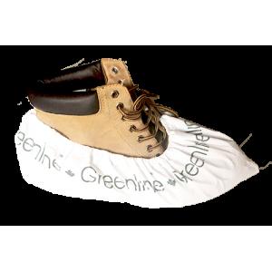 *SCCW-GL | Greenline Heavy Duty CPE Shoe Cover, Tacky Slip Resistance, 150 BG / 2 BG/CS, 120BG/ 2BG/CS