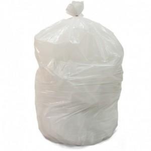 BWKCV2022U-W  |   GARBAGE BAGS WHITE 20 X 22 UTILITY CASE 500, MOQ of 50 Cases