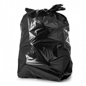 BWKCV2636S-B  |   GARBAGE BAGS BLACK 26 X 36 STRONG CASE 200