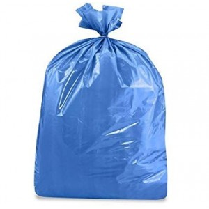 BWKCV3038S-BL  |   BLUE GARBAGE BAG 30X38 STRONG VALUE, MOQ of 50 Cases