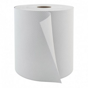H080 | Roll Paper Towel, 1 Ply, 800', 6 Rolls / CS