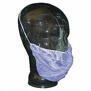 1791T | Beard Cover, Easy Breezy Polypropylene, White, 100/bg, 10 bg/cs 4lbs